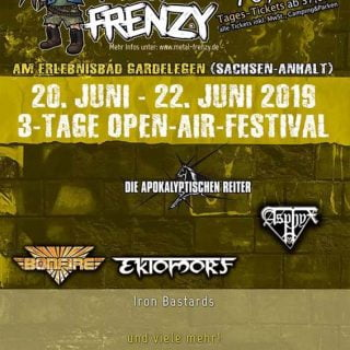 Flyer Metal Frenzy 2019