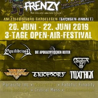 Metal Frenzy 2019 Flyer