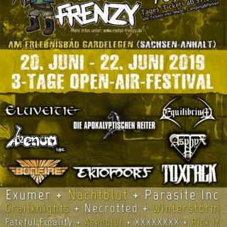 Metal Frenzy 2019 Bandpaket 2019-02-24