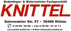 Maler Knittel Klötze