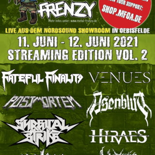 Metal Frenzy Streaming Edition 2021
